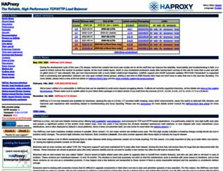 haproxy.org screenshot