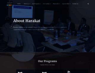 harakat.af screenshot
