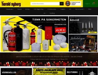 harald-nyborg.se screenshot