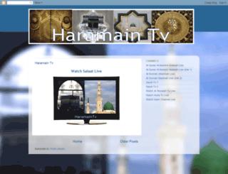 haramaintv.blogspot.com screenshot