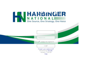 harbinger.intra.net screenshot