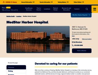 harborhospital.org screenshot