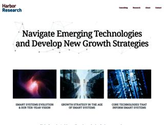 harborresearch.com screenshot