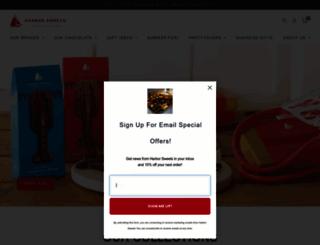 harborsweets.com screenshot
