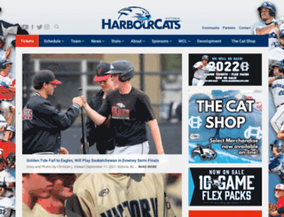 harbourcats.com screenshot