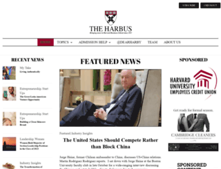 harbus.org screenshot