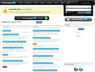 harcosokguild.mlap.hu screenshot