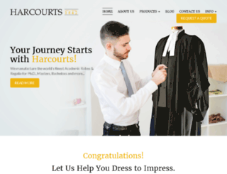 harcourts.com screenshot