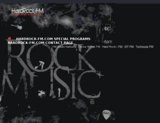 hardasarockradiochannel.com screenshot