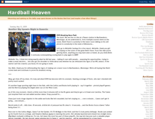 hardballheaven.blogspot.com screenshot