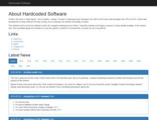 hardcoded.net screenshot