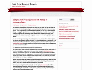 harddriverecoveryreviews.wordpress.com screenshot