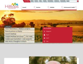 harden.nsw.gov.au screenshot