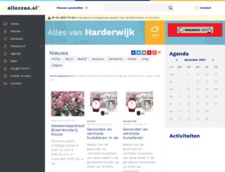 harderwijk.allesvan.nl screenshot