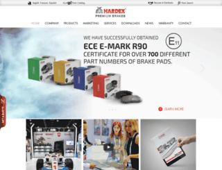 hardex.ca screenshot