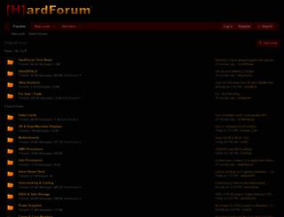 hardforum.com screenshot