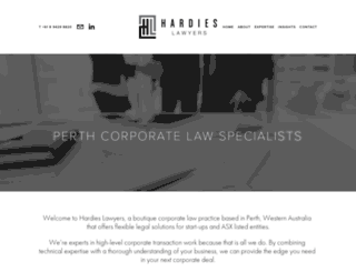 hardieslawyers.com screenshot
