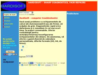 hardisoft.ro screenshot