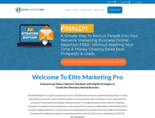 hardkey86.elitemarketingpro.com screenshot