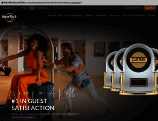 hardrockhotels.com screenshot