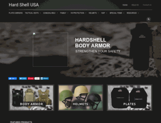hardshell.us screenshot