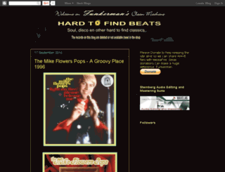 hardtofindbeats.blogspot.com screenshot