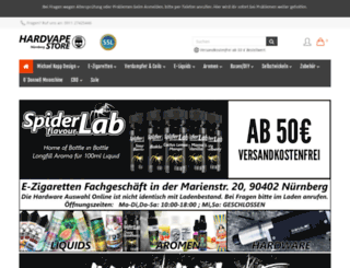 hardvape.com screenshot