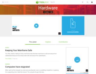 hardware.ittoolbox.com screenshot