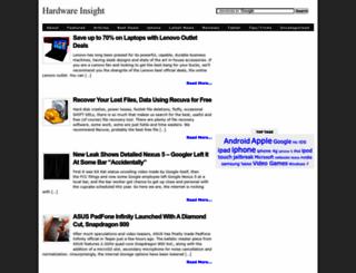 hardwareinsight.com screenshot