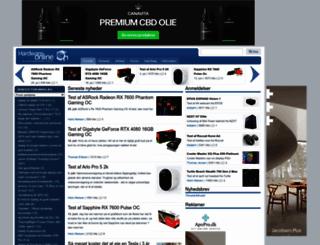hardwareonline.dk screenshot