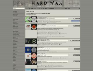 hardwax.de screenshot