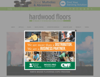 hardwoodfloorsmag.com screenshot