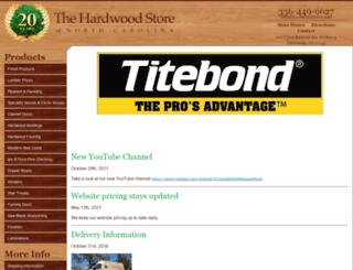 hardwoodstore.com screenshot