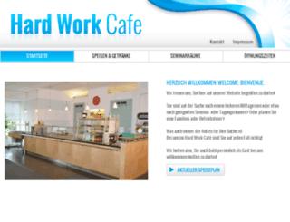 hardwork-cafe.de screenshot