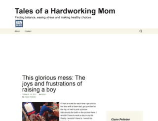 hardworkingmom.bangordailynews.com screenshot