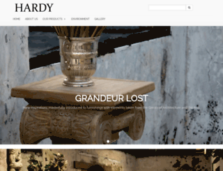 hardyinteriors.com screenshot