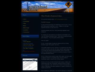 harebrained.com screenshot