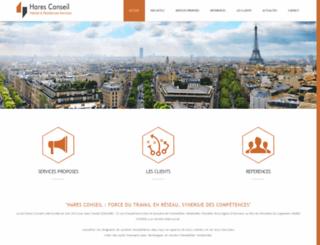 haresconseil.fr screenshot