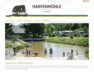 harfenmuehle.de screenshot
