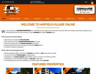 harfield-village.co.za screenshot