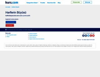 harflerinbuyusu.kurs.com screenshot