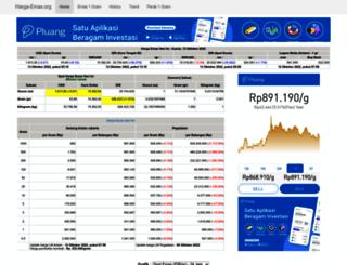 harga-emas.org screenshot