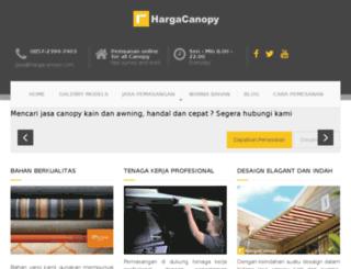 hargacanopy.com screenshot