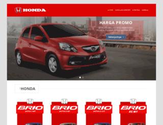 hargahondabrio.com screenshot