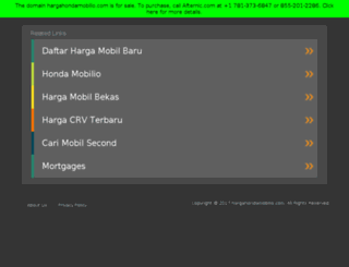hargahondamobilio.com screenshot
