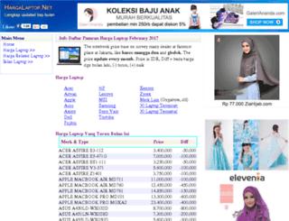 hargalaptop.net screenshot