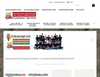 hargamesincuttingstiker.com screenshot