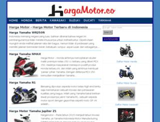hargamotor.co screenshot