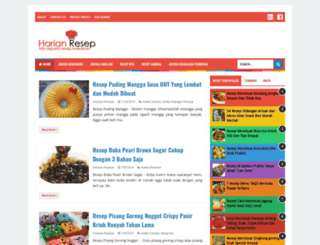 harianresep.blogspot.co.id screenshot