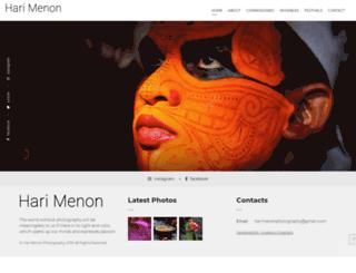 harimenonphotography.com screenshot